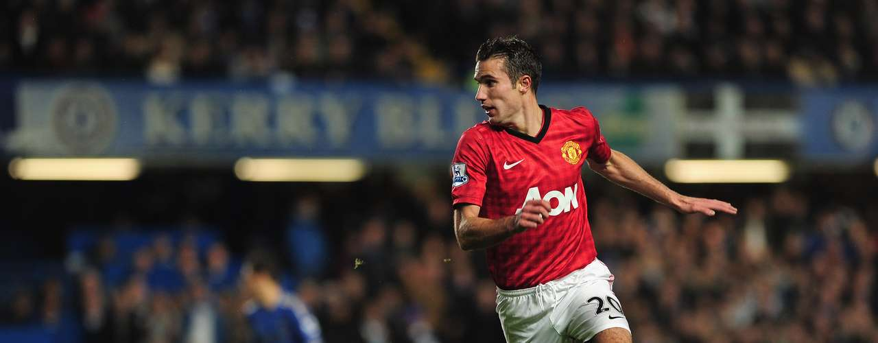 Robin Van Persie - Manchester United - Inglaterra