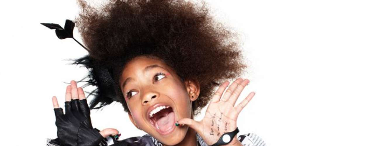 Willow tiene a Justin Bieber como su hermano mayor : . No estoy enamorada de él  aseguró en la edición de marzo de la revista Teen Vogue.
