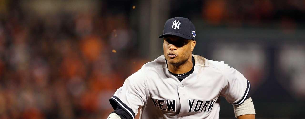 Como segunda base, Robinson Canó de los Yanquis de Nueva York.