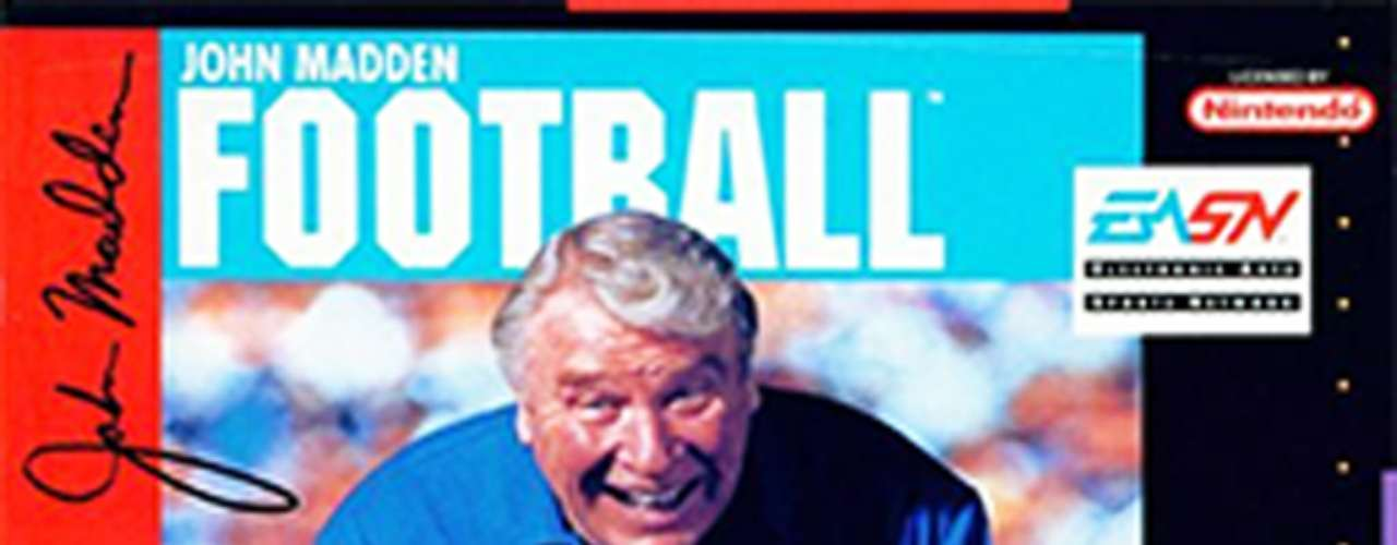 Then we come to perhaps the most famous sports video game of all time, the long-running Madden series. Originally, it was called 'John Madden's Football' when it was released in 1988, and it became Madden NFL in 1993 after EA acquired the rights to NFL player and team names. The game introduced player ratings, featured revolutionary game play based on those ratings, and graphics were superior to equivalent games on the market.
