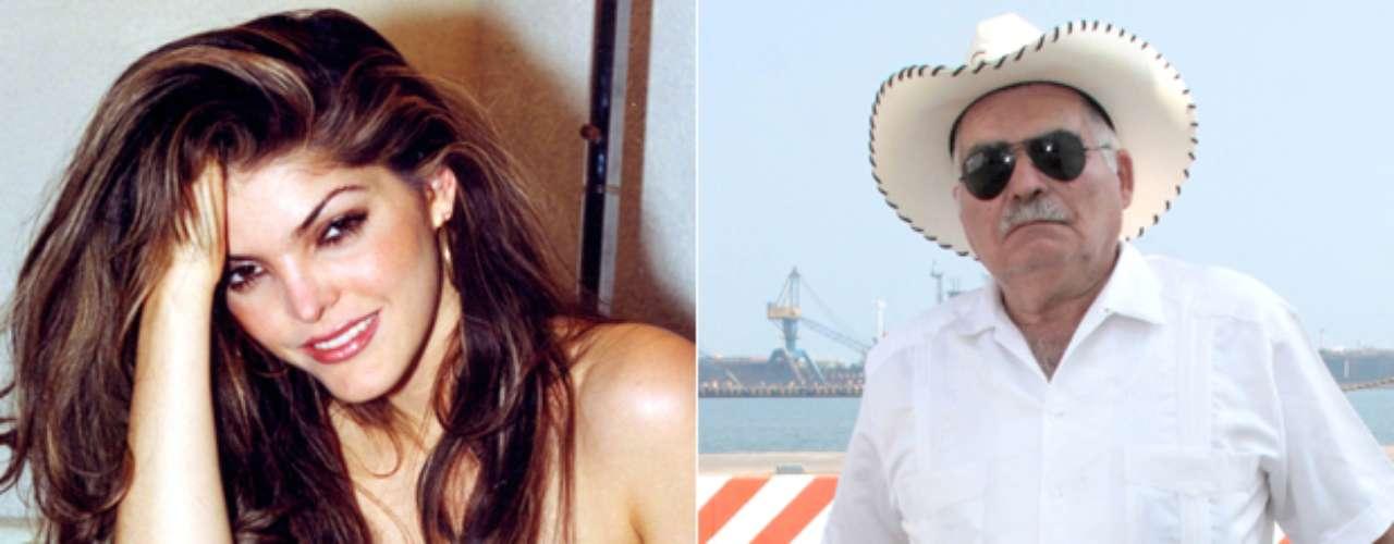Otro que no deja de hablar siempre que le preguntan por la vida de su hija, Ana Bárbara, es don Antero Ugalde, quien en varias ocasiones ha sido regañado por 'La Peque', para que cierre la boca.