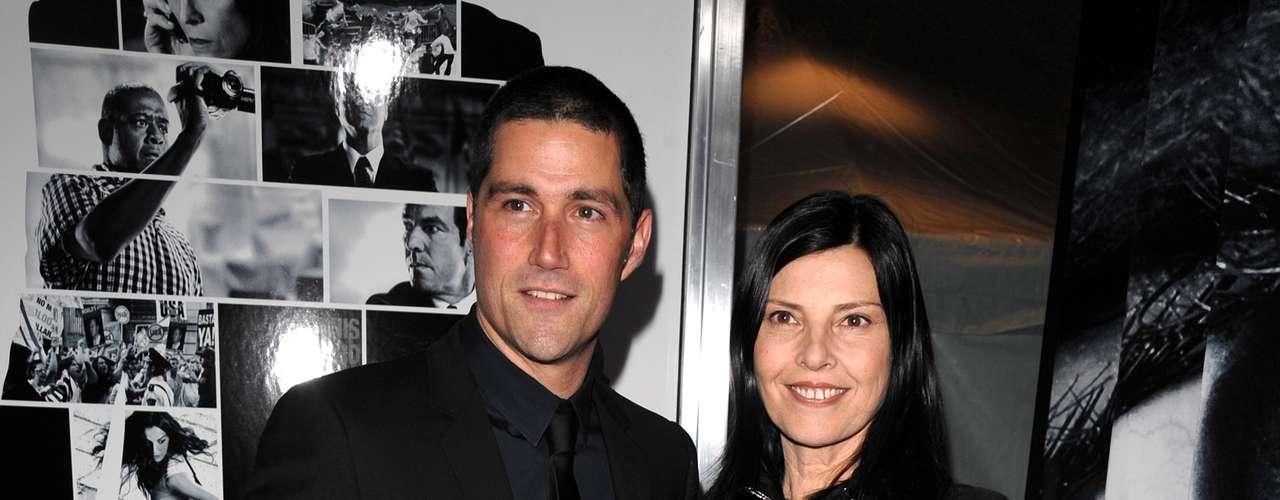 Matthew Fox está casado hace 16 años con Margherita Ronchi y tienen 2 hijos