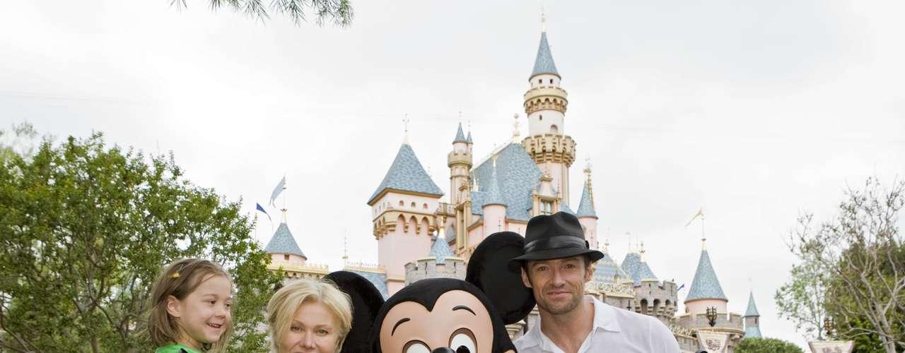 Hugh Jackman y su esposa tienen dos niños - Oscar y Ava, ambos adoptados