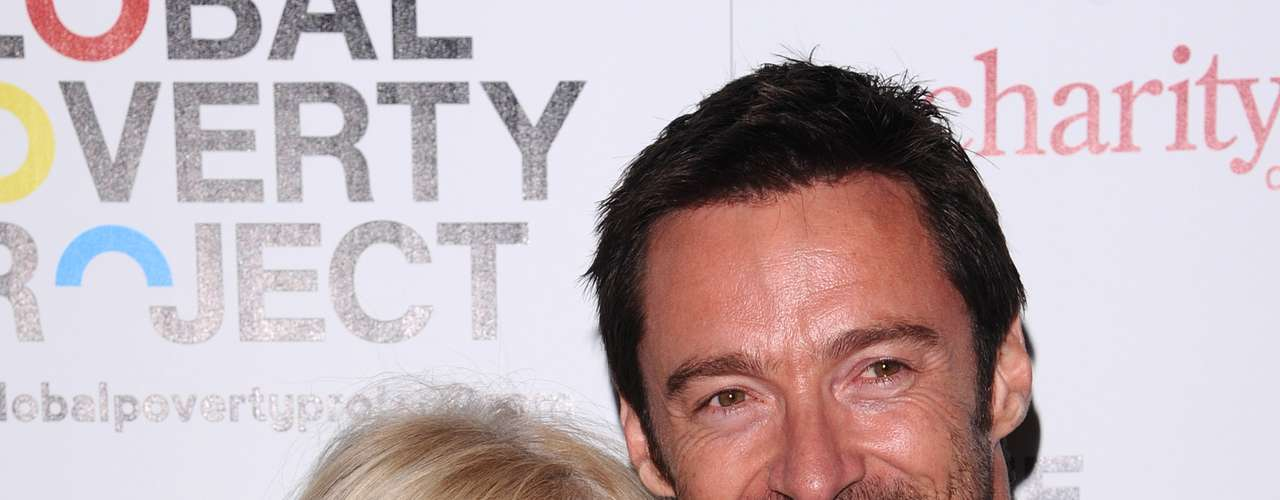 Hugh Jackman y su esposa, Debora-Lee Furness