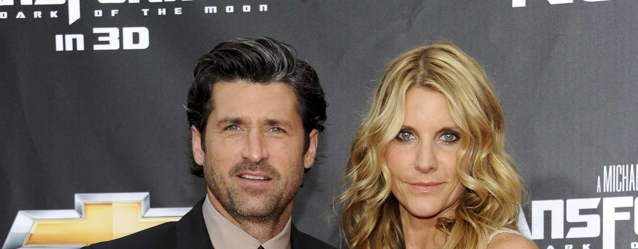 La pareja tiene 3 hijos: Darby Galen y Sullivan Patrick Dempsey y Talula