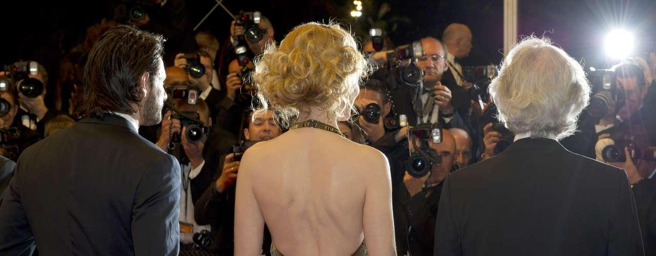 Nicole Kidman siempre a la moda.