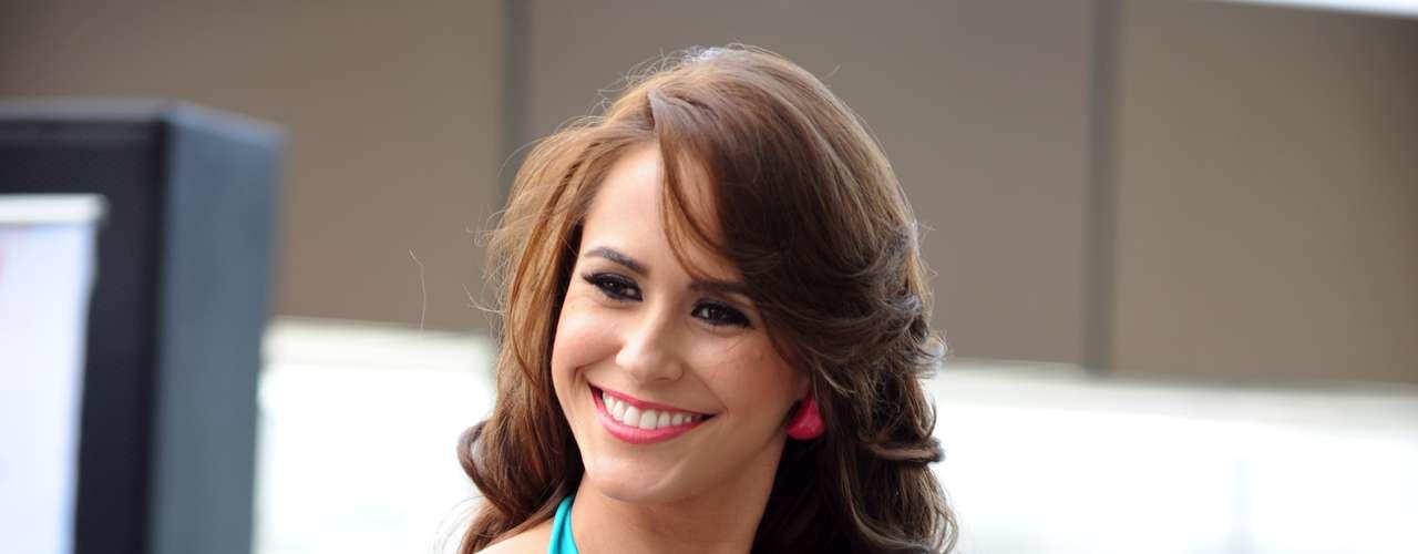 Así se vio Ana Loren Ibanez, la representante de Miss Tierra Panama quien engalanó la pasarela con su espectacular figura.