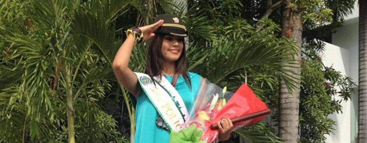 La Señorita Atlántico se llevó el premio a la nueva Reina de la Policía Nacional