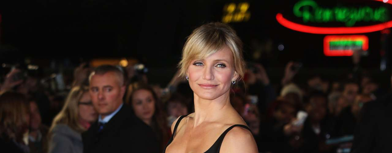 Cameron Diaz was looking beautiful in a Stella McCartney dress at the \