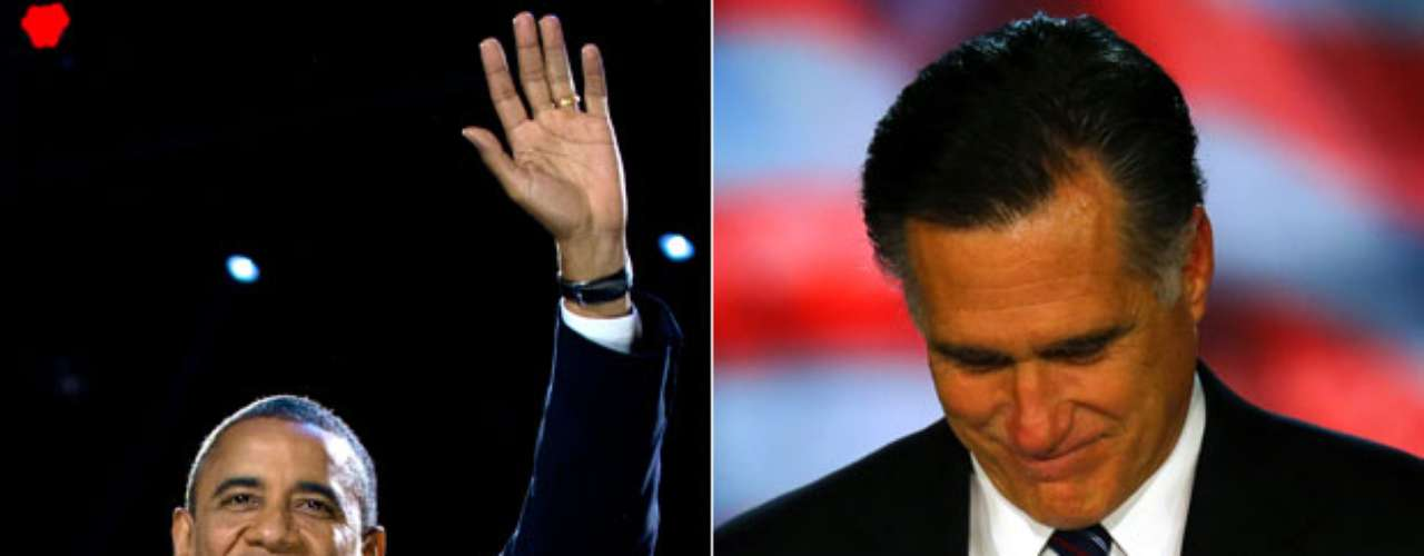 Winner and loser.the presidential candidates and their followers could not hide their emotions after the results were announced on November 6. Obama smiles while Romney solemnly accepts his defeat. See the pictures of the diverse reactions:
