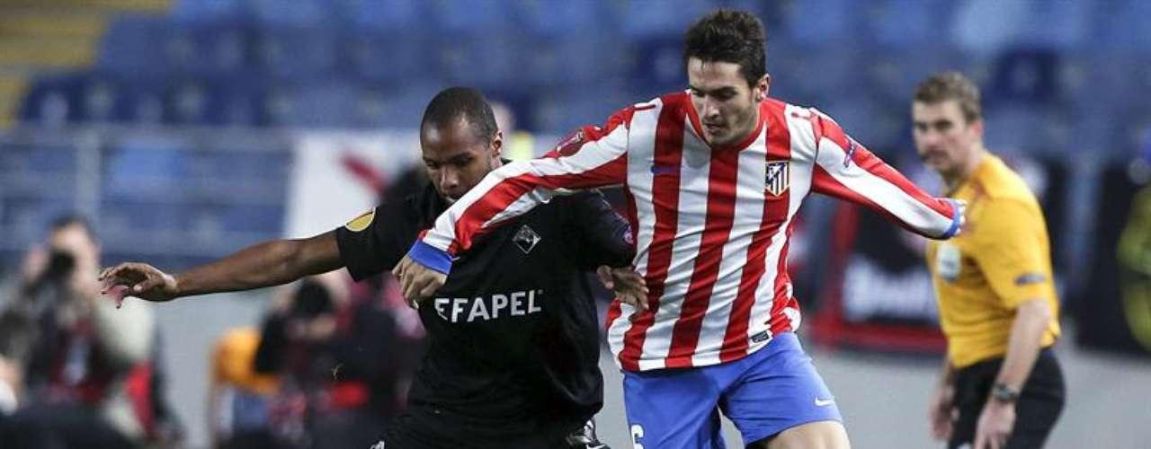El partido, válido por la cuarta jornada del Grupo B de la Europa League, fue disputado en la ciudad de Coimbra.