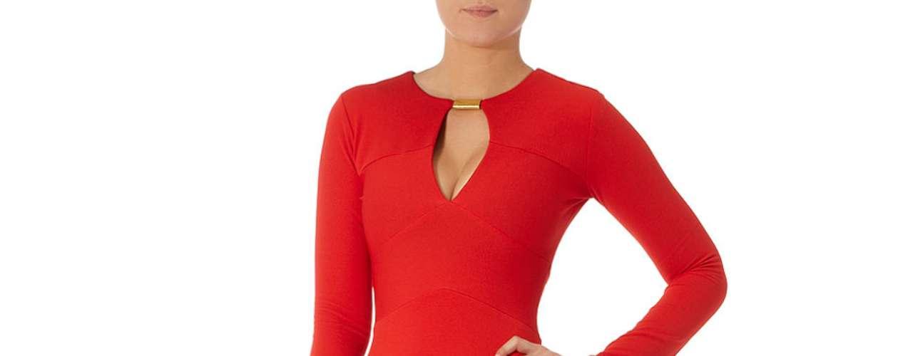 Para las más osadas este diseño en color roja super ajustado a  $ 69,00