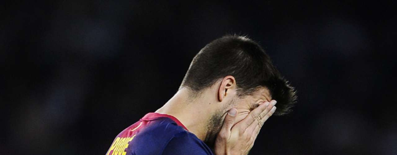 Gerard Pique tweeted on his return to the field in Barcelona's 2-1 loss to Celtic in Champions League play Wednesday.