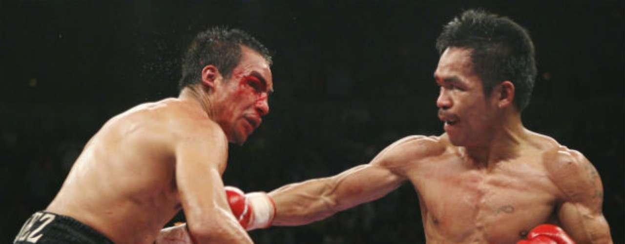 El 15 de marzo de 2008 se dio el segundo capítulo de esta rivalidad. El filipino salió airoso al ganar por decisión dividida.
