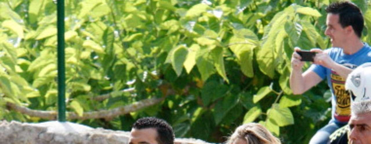 Martin, que es pareja de Pedro desde hace varios años, tendrá a su primer hijo en los primeros meses de 2013.