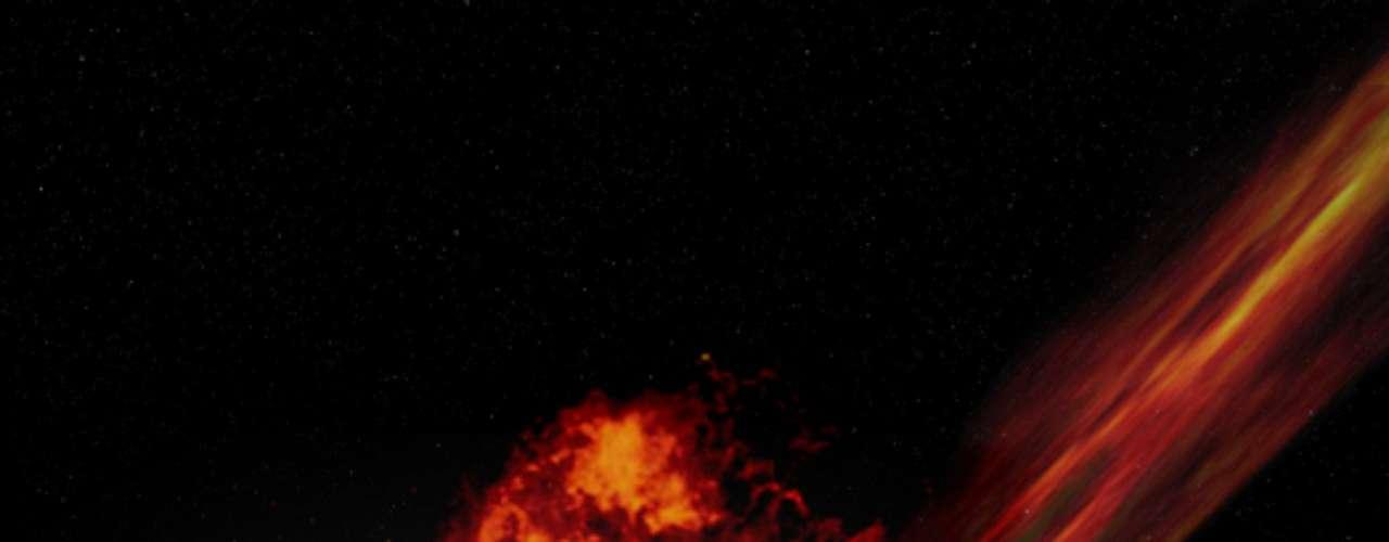 El impacto de un gigantesco asteroide. No se tiene registro de algo suficientemente grande como para provocar una destrucción masiva como la que acabó con los dinosaurios. Los astrónomos de la NASA tienen un completo programa de seguimiento de la trayectoria de los asteroides potencialmente peligrosos para la Tierra y no han observado ninguno que pueda ser tan amenazador.