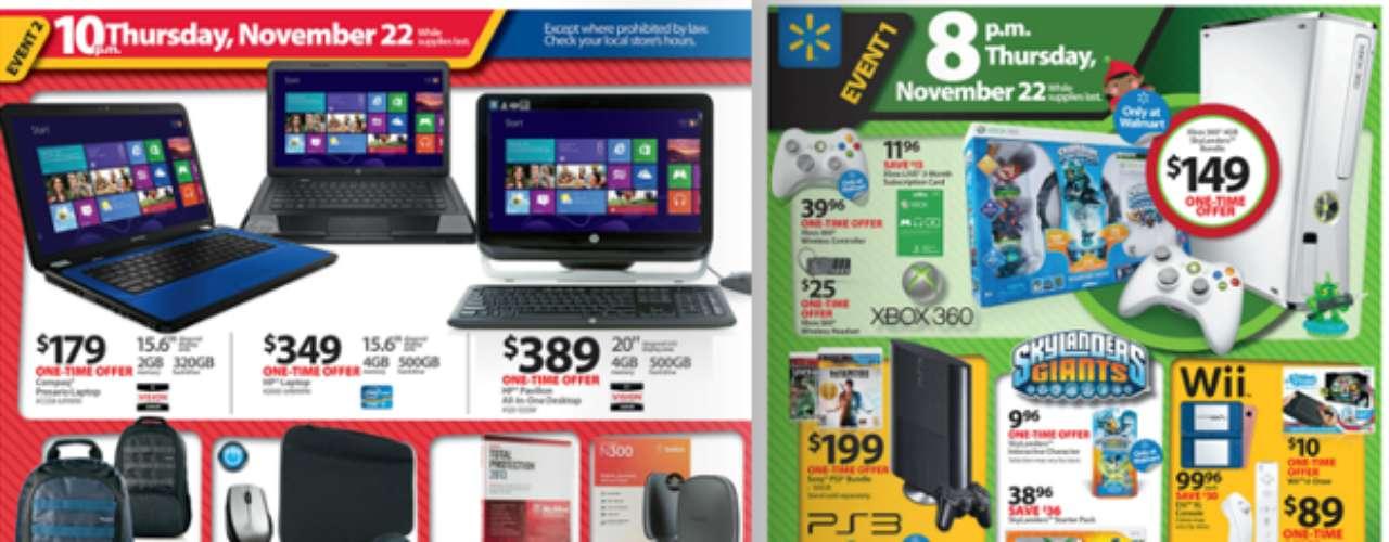 Walmart abrirá sus puertas el jueves 22 a las 8 PM y tendrá diferentes eventos de ofertas para garantizar la disponibilidad de los productos. Revisa este catalogo previo para que escojas tus regalos favoritos.