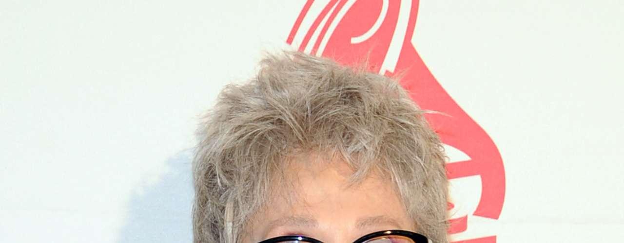 Rita Moreno en la alfombra roja de la ceremonia Premio A La Excelencia Musical de La Academia Latina de la Grabación, celebrada el miércoles 14 de noviembre en el hotel Four Seasons de Las Vegas, Nevada.