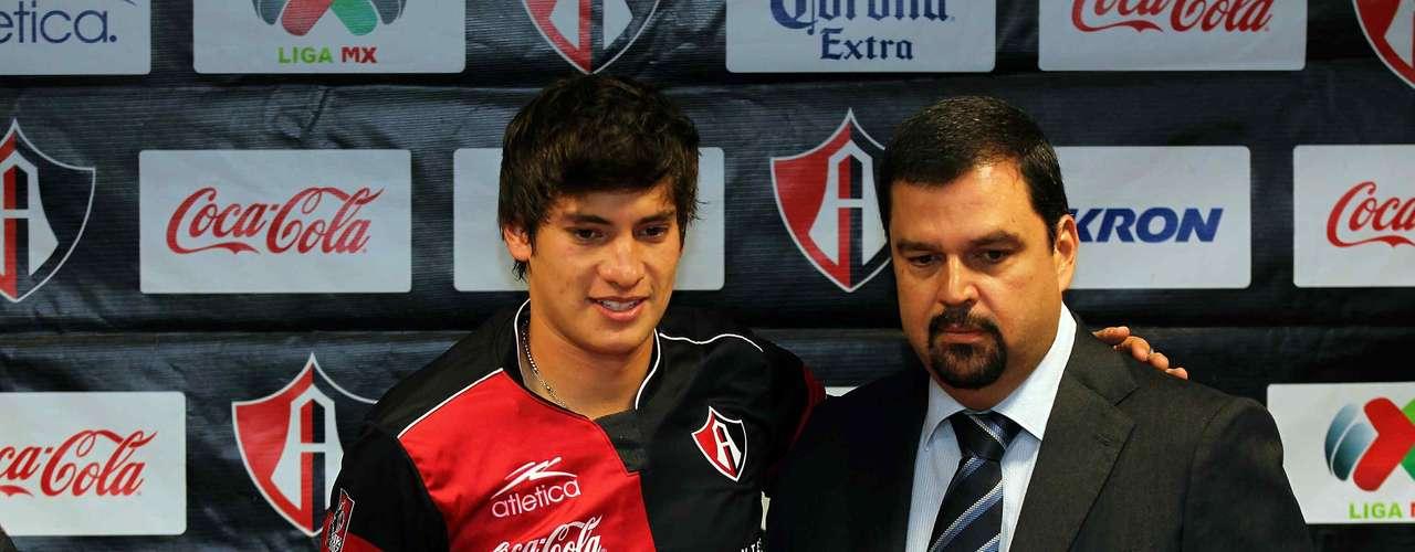 Edson Rivera estuvo en el Sporting Braga de Portugal.