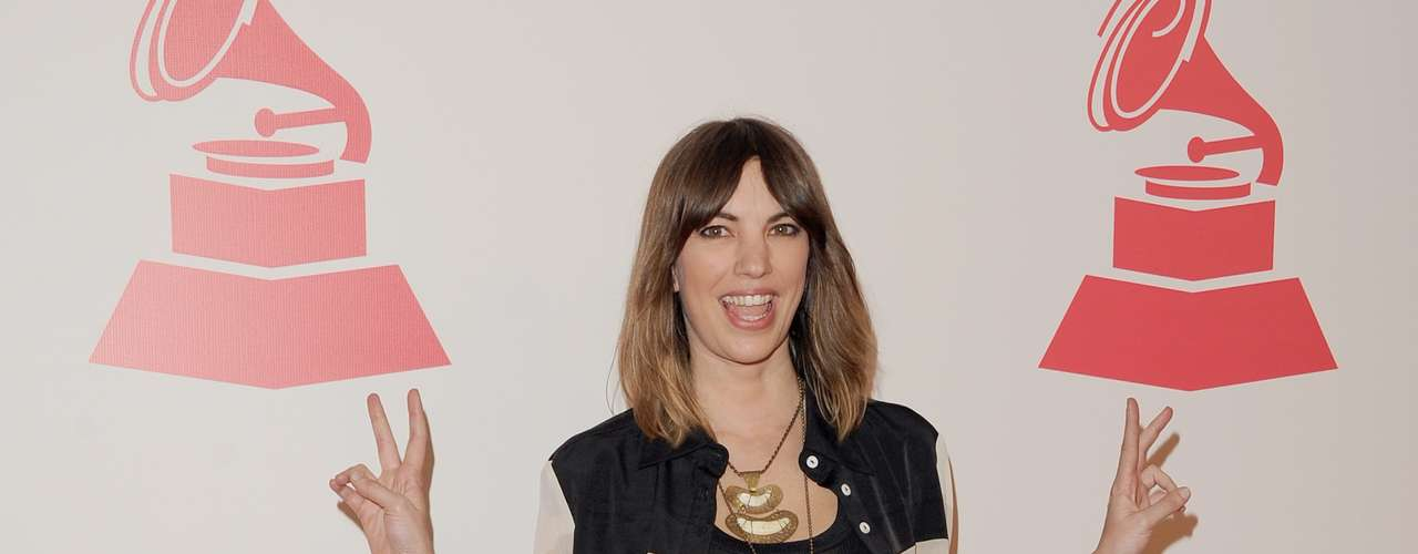 Deborah De Corral en la alfombra roja en honor a Caetano Veloso quien fue recipiente del premio \