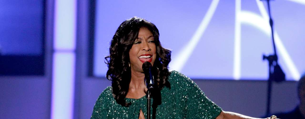 Even Natalie Cole was present and sang \