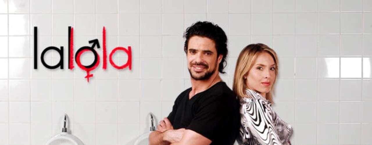 LaLola. Teleserie argentina que, protagonizada, por Carla Peterson y Facundo Castro, contaba la historia de un mujeriego atrapado en el cuerpo de una mujer. En Perú, se contó la misma historia con Gianella Neyra y Christian Rivero en los roles principales.