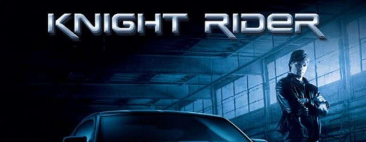 Knight Rider - El Auto Fantástico. Serie de los 80 protagonizada por David Hasselhoff, que interpreta a Michael Knight, un defensor de los desprotegidos que conduce a KITT, un automóvil inteligente. En 2008, salió un remake de esta serie, aunque no cumplió con las expectativas deseadas y fue cancelada.