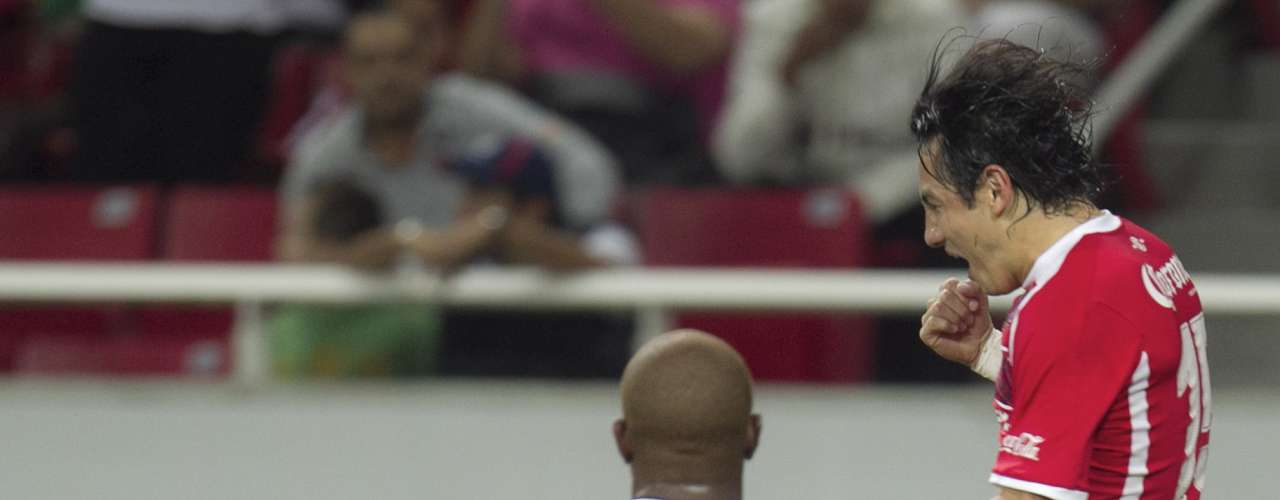Toluca fue contundente al frente y Antonio ríos abrió el marcador