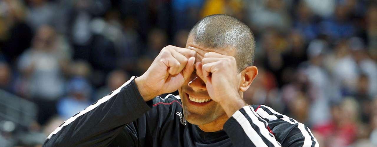 Heat vs. Nuggets: Shane Battier bromea previo al duelo ante Denver. El campeón Miami venció 98-93 a Denver y rompe una racha de 10 derrotas consecutivas en Colorado.