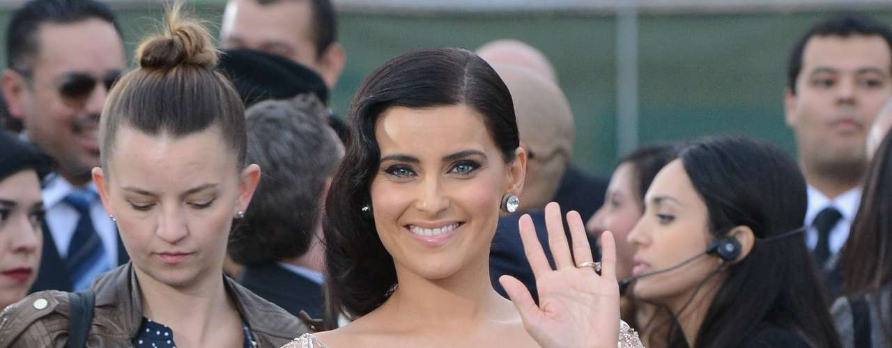 Nelly Furtado looked more than adorable at the Latin Grammy Awards on November 15, 2012 in Las Vegas Nevada.