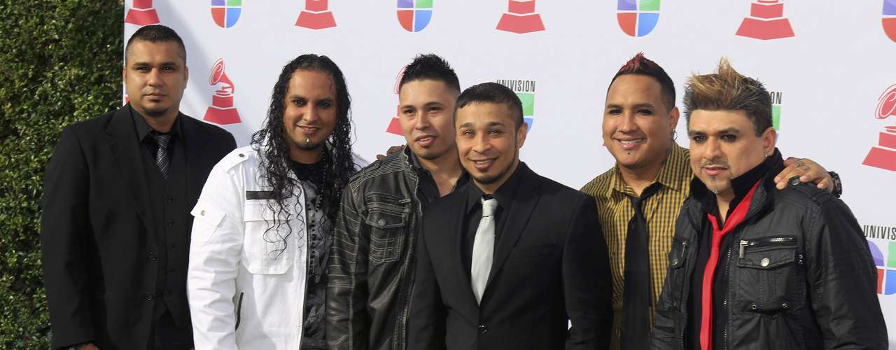 Siggno arrive at the 13th Latin Grammy Awards in Las Vegas, Nevada, November 15, 2012. REUTERS/Steve Marcus (UNITED STATES  - Tags: ENTERTAINMENT)