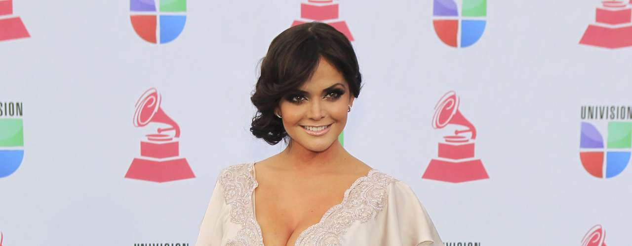 TV personality Marisol Gonzalez of Mexico arrives to the 13th Latin Grammy Awards in Las Vegas, Nevada November 15, 2012.   REUTERS/Steve Marcus (UNITED STATES  - Tags: ENTERTAINMENT)