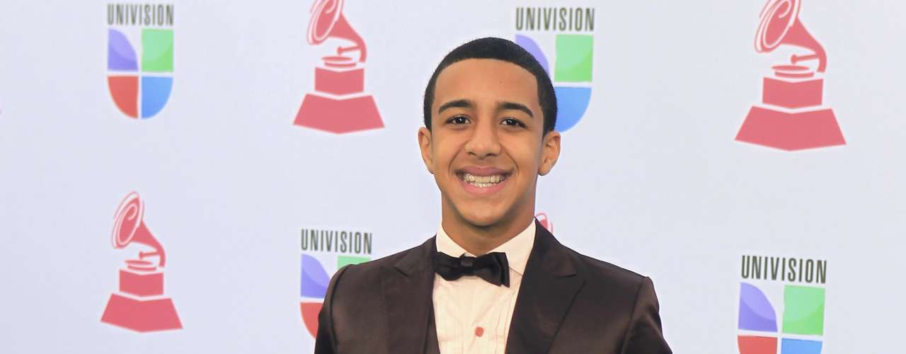 Puerto Rican reggaeton artist Miguelito arrives at the 13th Latin Grammy Awards in Las Vegas, Nevada, November 15, 2012.