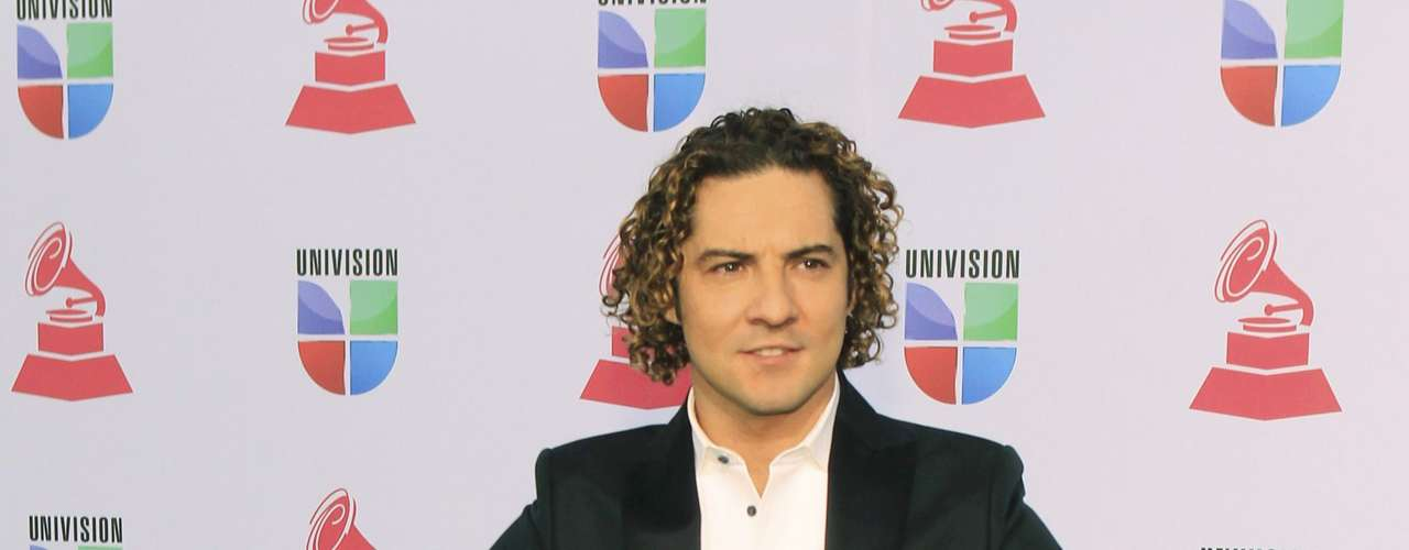 Singer David Bisbal of Spain arrives during the 13th Latin Grammy Awards in Las Vegas, Nevada November 15, 2012.