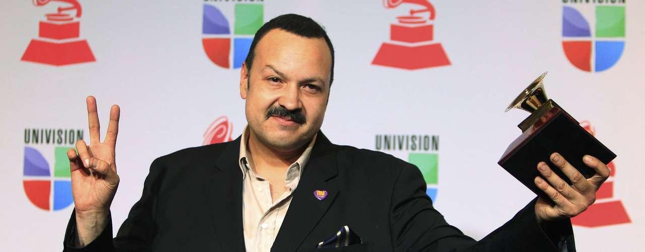 Pepe Aguilar ganó el premio Mejor Álbum Ranchero, gracias a su disco \