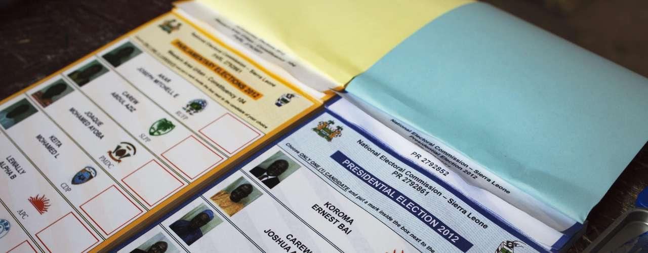 En las elecciones -las terceras después de la guerra civil, entre 1991 y 2002, que dejó unos 50.000 muertos-, también se deciden los 124 escaños del Parlamento y los gobiernos y concejos locales.