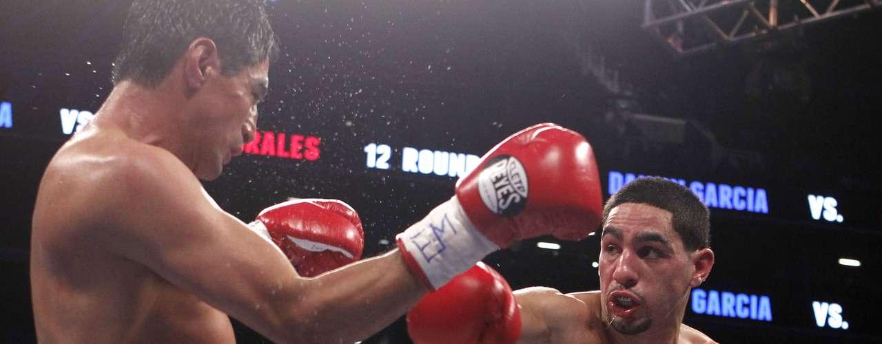 Danny García ha salido a la escena del boxeo mundial después de derrotar claramente y por segunda ocasión a un grande: Erik Morales. Récord 25-0.