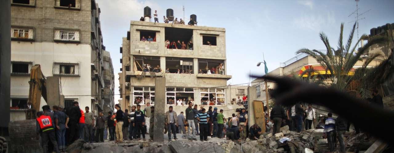 La oficial precisó que la acción formaba parte de una operación bélica autorizada por el jefe del Estado Mayor, Benny Gantz, contra objetivos terroristas en la franja de Gaza, en particular contra Hamás y la Yihad Islámica.