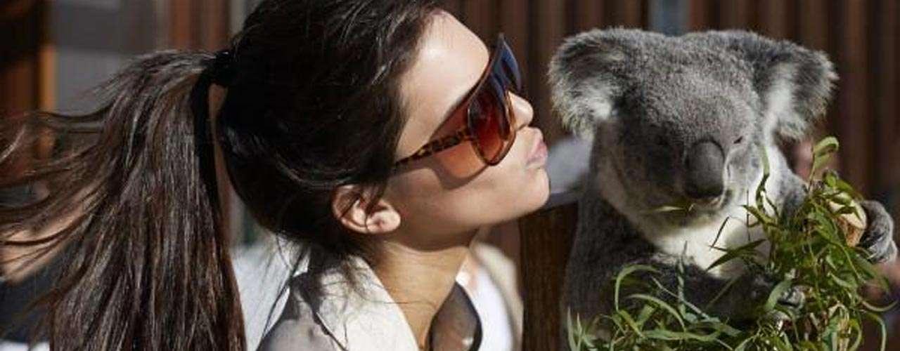 La joven de 17 años ya trabaja como modelo, además de aparecer en la serie 'Keeping Up with the Kardashians'.