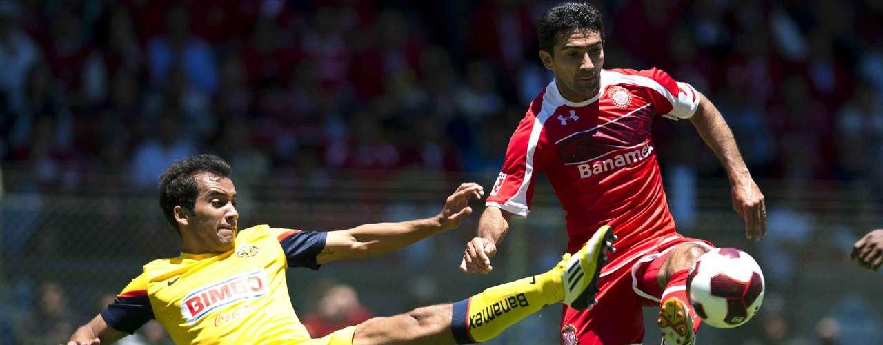 jueves 22 de noviembre - América recibe a Toluca en el inicio de las semifinales del Apertura 2012