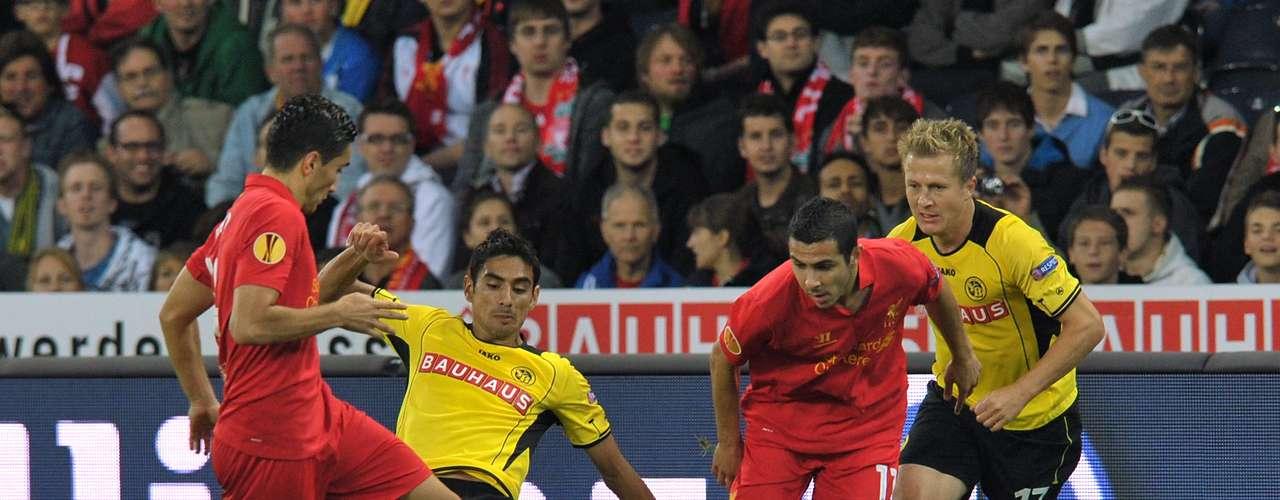 jueves 22 de noviembre - Liverpool necesita los tres puntos ante los Young Boys que siguen con aspiraciones de clasificar