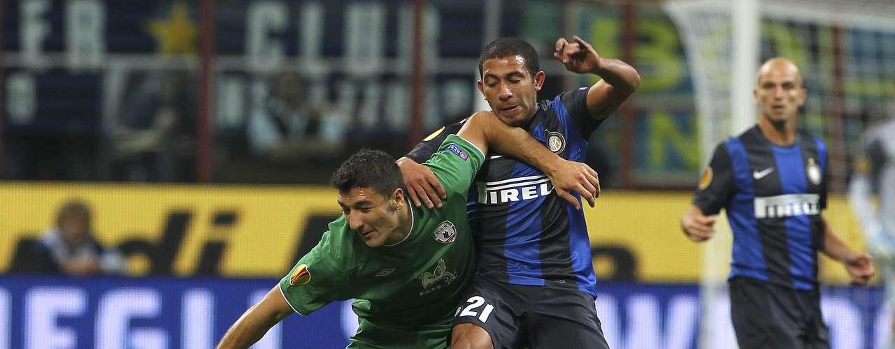 jueves 22 de noviembre - Inter de Milan y Rubin Kazan se pelean por el liderato del grupo H en la Europa League
