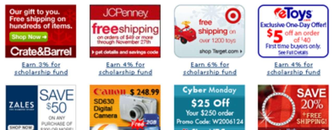 88 por ciento de las tiendas famosas ofrecen promociones online durante cyber Monday