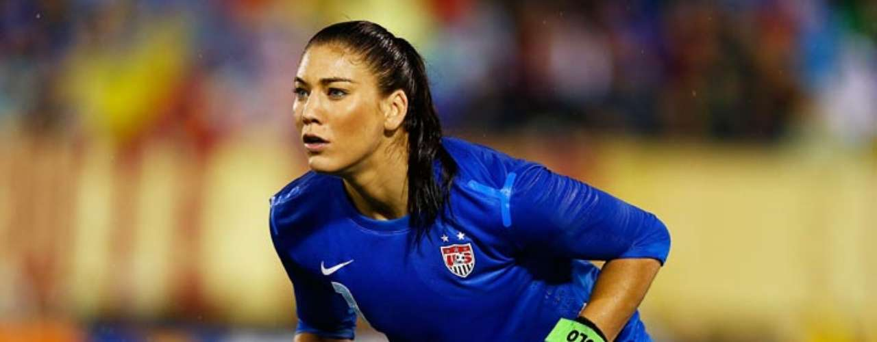 And finally, Hope Solo is obviously a fan not just of her own team, but of soccer in general, as this tweet about Sunday night's Seattle Sounders-L.A. Galaxy match shows.