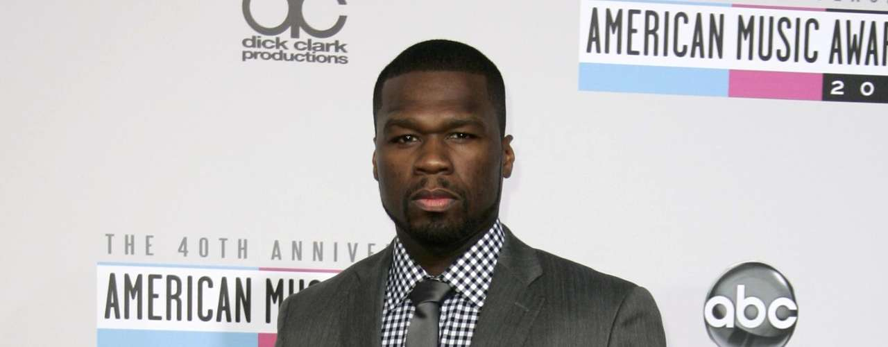 50 Cent arrives at the 40th American Music Awards in Los Angeles, California November 18, 2012.