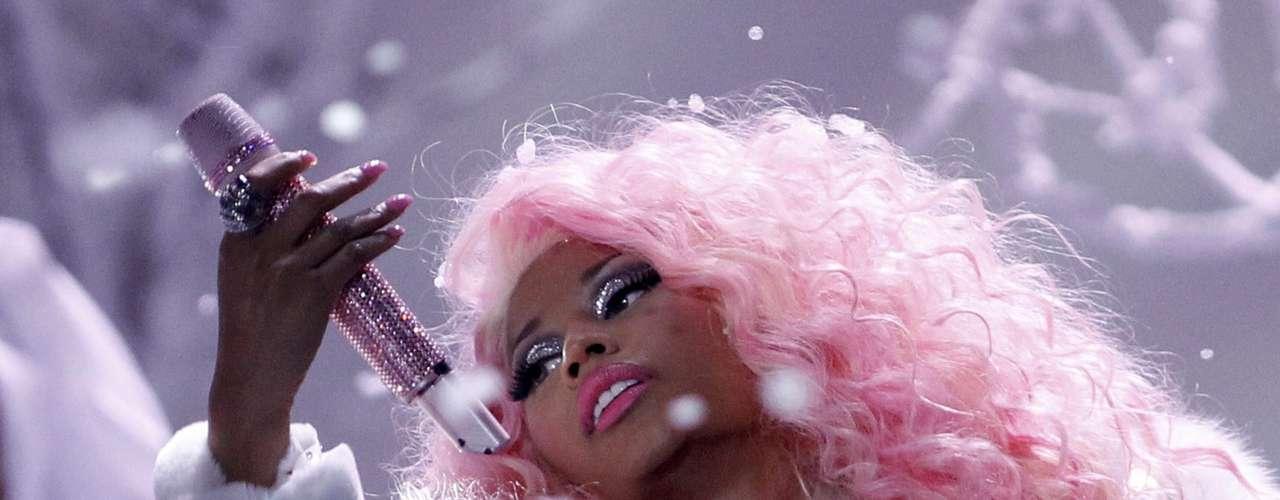 Nicki Minaj cantó \
