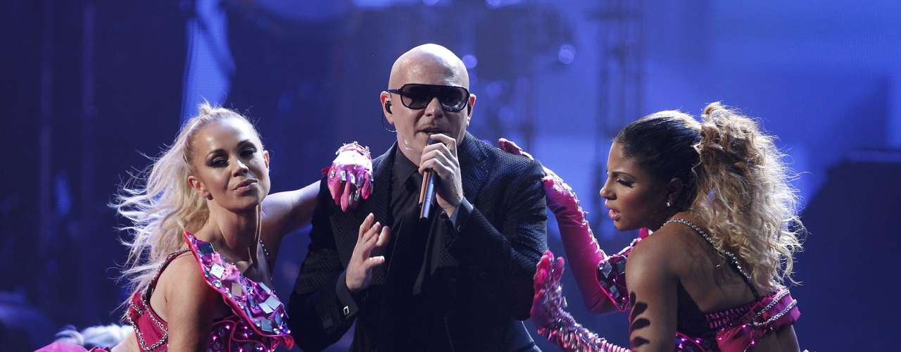 WORST: Pitbull's performance of \