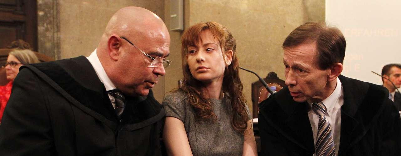 Carranza, que en el momento de ser detenida estaba embarazada, dio a luz en marzo pasado a una criatura, que fue confiada a sus padres en Barcelona.