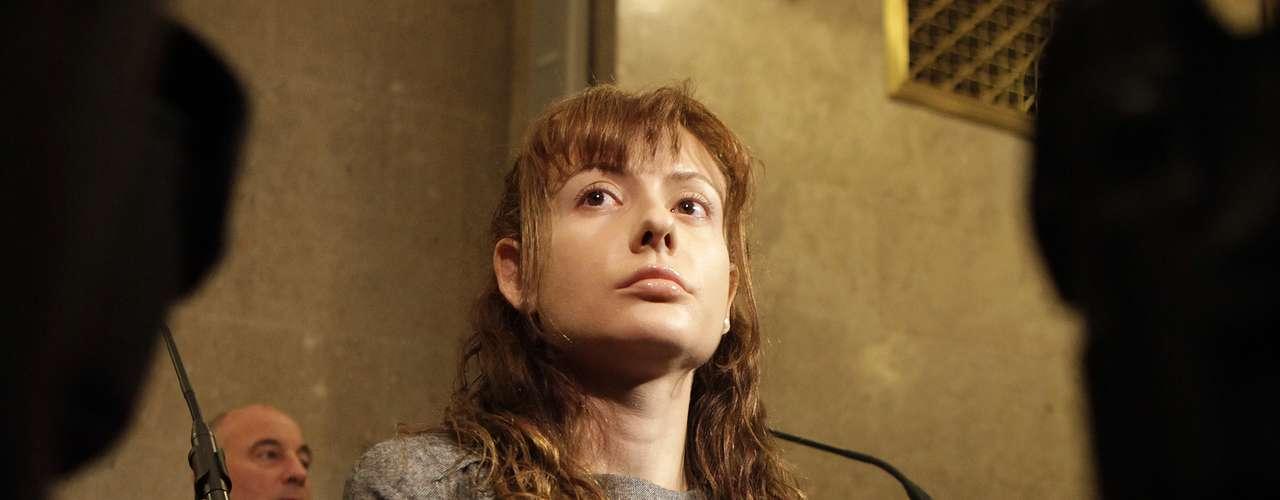 Resta verse si la mujer con cara de 'ángel' es sentenciada a perpetua y si termina sus días en un psiquiátrico (fuente AFP).