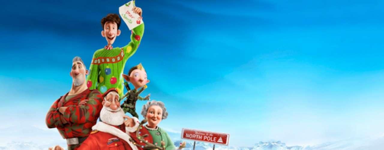 FIESTAS 2012: Arthur Christmas - Operación Regalo, 2011. Esta historia revela la duda que todos tenemos ¿Cómo hace para repartir Santa los regalos de todos los niños en una noche? Sí, Arthur Christmas nos cuenta este gran secreto.